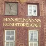 カフェの外壁(スイス)